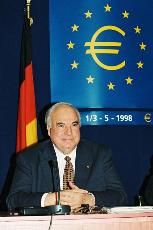 Europäischer Rat in Brüssel 1998 / Bundeskanzler Kohl