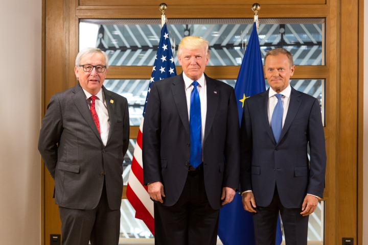 Juncker_Trump_Tusk_Brussels_2017